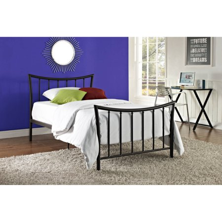 Bali Bronze Metal Bed, Multiple Sizes