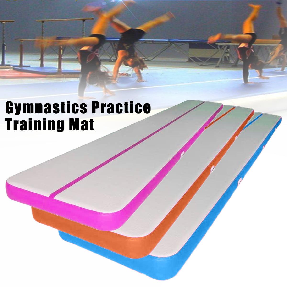 Inflatable Air Balance Beam GYM Gymnastics Tumbling Mat Practice Training Pad Air Tumbling Track with Air Pump