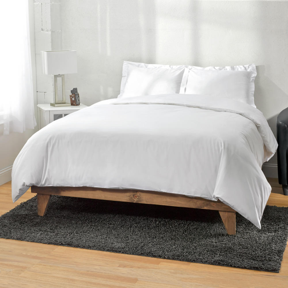 1500 Thread Count Egyptian Cotton 3pc Duvet Cover by ExceptionalSheets, Parent, Black
