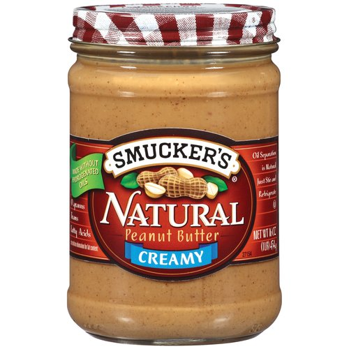 Smucker's Natural Creamy Peanut Butter, 16 oz