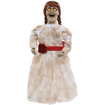 Grim Girl Doll Halloween Decoration - Cheap Outside Halloween Decorations