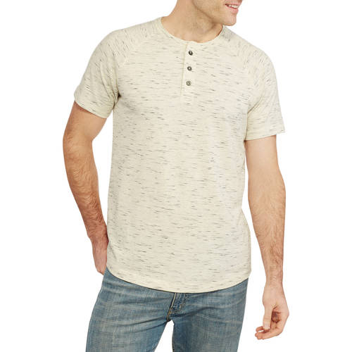 Faded Glory Men's Henley Tee by