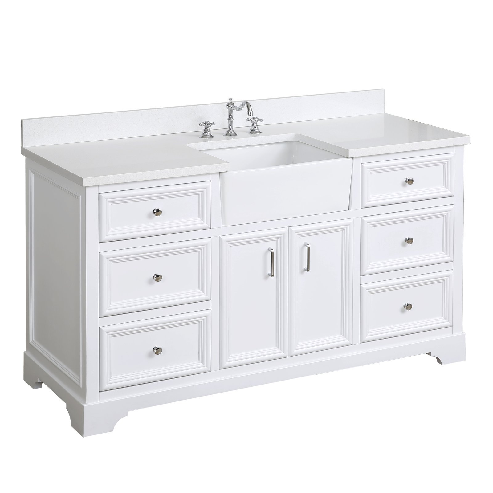 Zelda 60 Single Bathroom Vanity Walmart Com Walmart Com