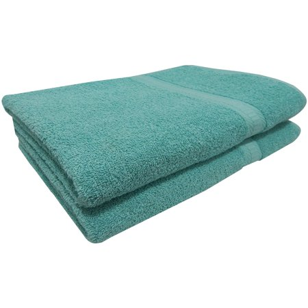 Mainstays Basic Cotton 2 Piece Bath Sheet Towel Set