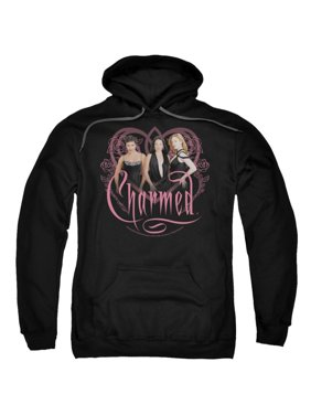 Charmed TV Show Wb Charmed Girls Adult Pull-Over Hoodie