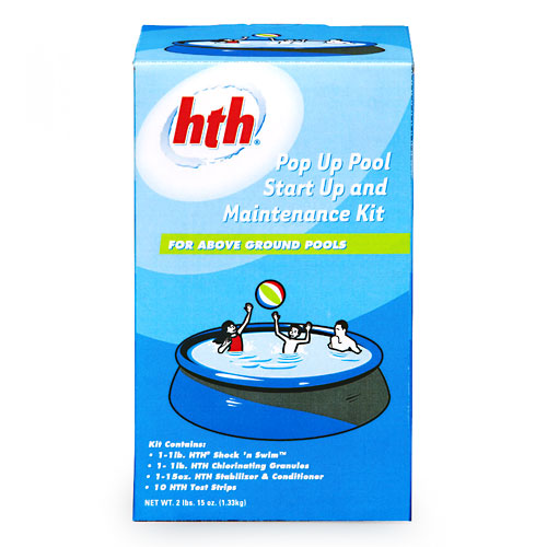 HTH Pop-Up Pool Start Up and Maintenance Kit