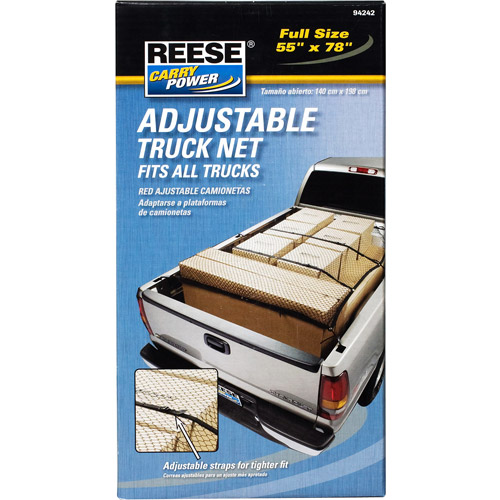 Reese Carry Power Adjustable Heavy Duty Truck Net