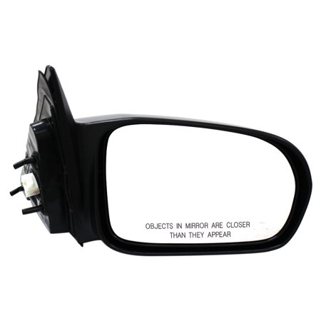 Honda Civic Door Mirror Manual (2001,2002,2003,2004,2005 Honda Civic Front,Right (Passenger Side) DOOR)