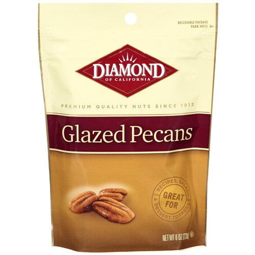 Diamond Of California Glazed Pecans, 8 oz