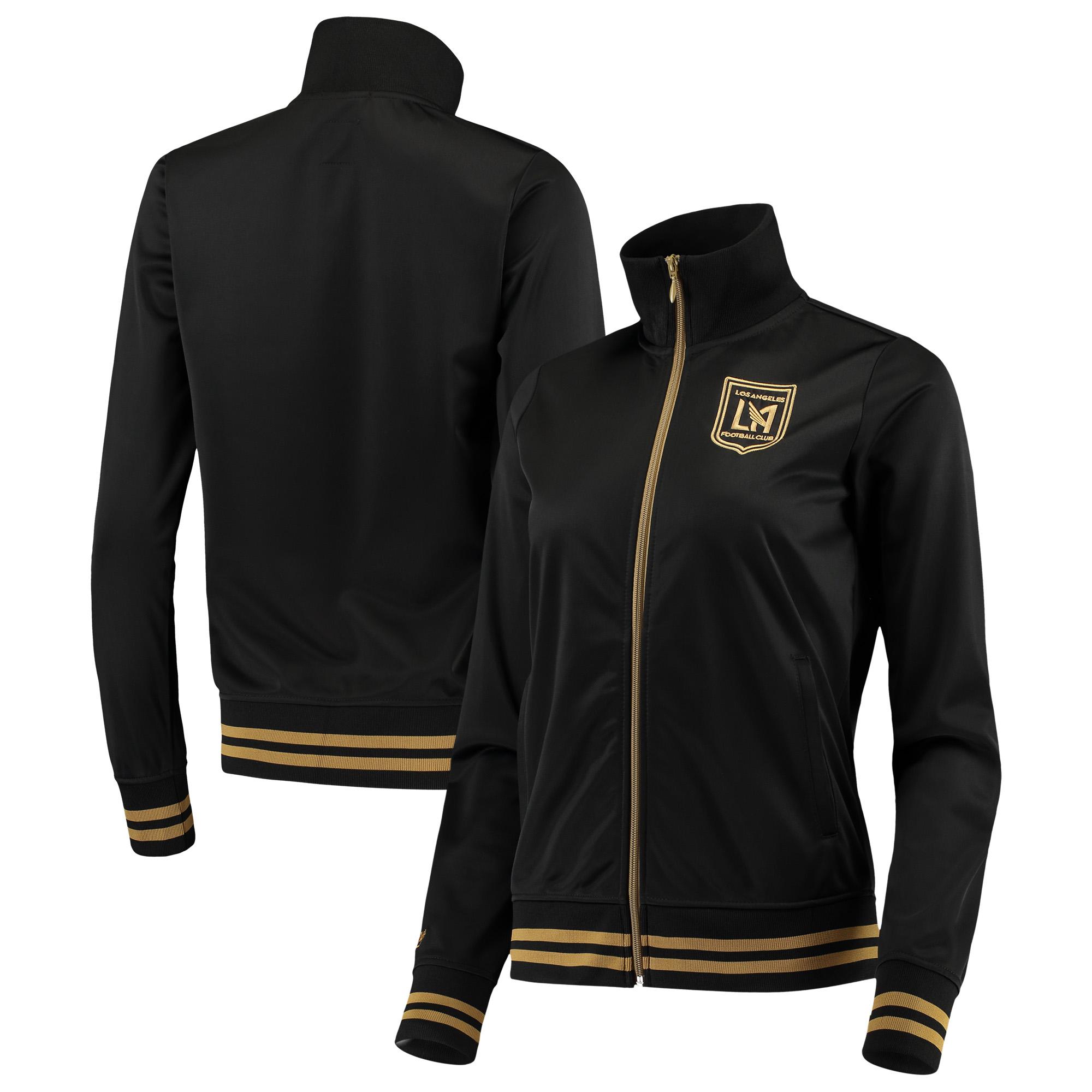 LAFC Mitchell & Ness Women's Full-Zip Track Jacket - Black