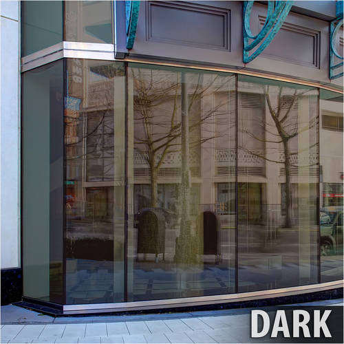 BDF BRZ20 Bronze Reflective Sun Control and Privacy Window Film (Dark) 36in X 7ft by BuyDecorativeFilm