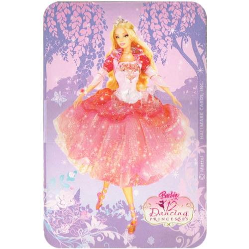 Barbie '12 Dancing Princesses' Go Fish Party Game (1ct)