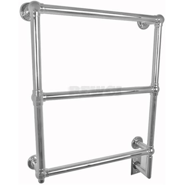 Amba Traditional T-2534 Traditional Wall Mount Towel Warmer in Polished Nickel - BTUs: 341