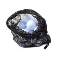 EWAVINC Outdoor Sport Nylon Mesh Bag Pouch Golf Tennis Balls Holder Golf Balls Storage Clasp Training Aid Bag