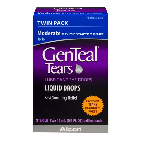 Alcon GenTeal Tears Eye Drops, 2 ea