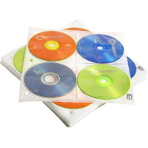 Case Logic 25-Pack CD Storage Pages
