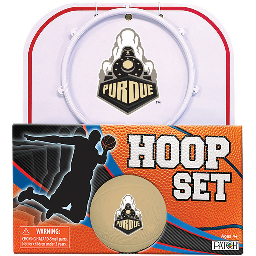 Officially Licensed NCAA Purdue Hoop Set