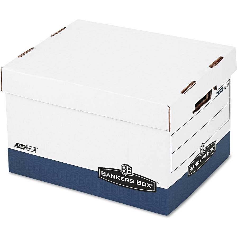 Fellowes R-Kive Max Storage Box with Locking Lid, Available in Various Colors