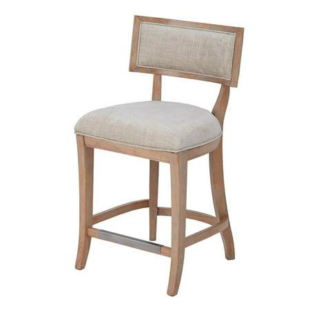 madison park marie wood bar stool in beige light natural mps104 0101. Black Bedroom Furniture Sets. Home Design Ideas