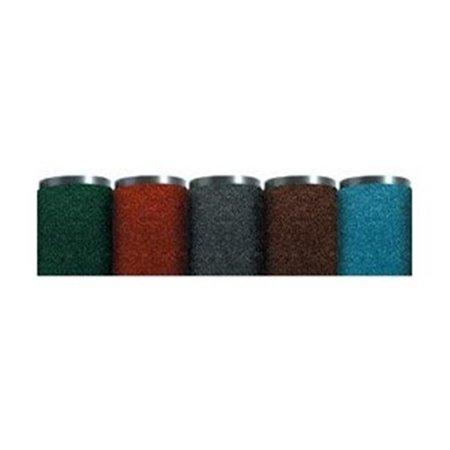 box partners mat350br 4 foot x 8 foot brown economy vinyl carpet mat
