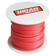 Infinite Innovations UA521050 75 ft. Red Insulation Stranded Wire, 10 Awg