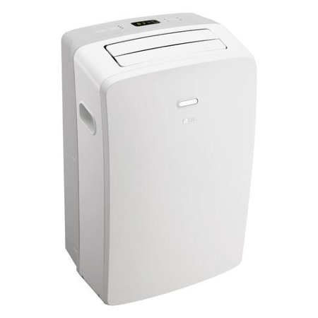 Best LG 10,000 BTU Portable Air Conditioner 115V, With Remote, Window Kit, Factory-Reconditioned deal