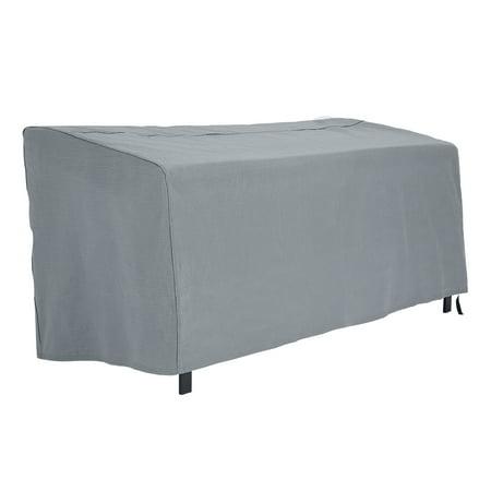 """Mainstays Sandell 64"""" Outdoor Bench Cover in Gray, Medium"""