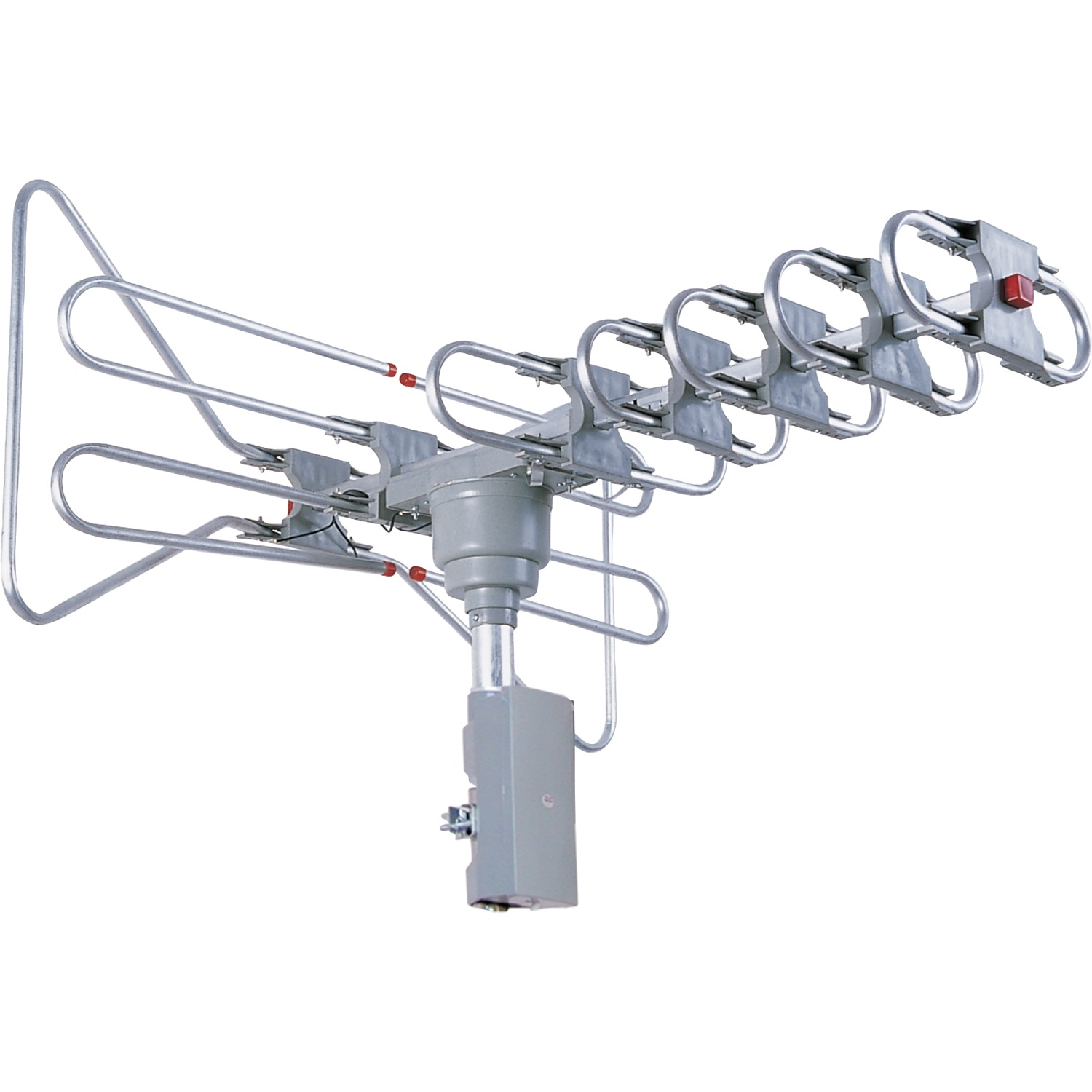 Supersonic SC-603 SC-603 360° HDTV Digital Amplified Motorized Rotating Outdoor Antenna