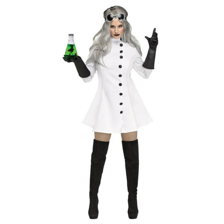 Mad Scientist Women's Halloween - Mad Scientist Coat