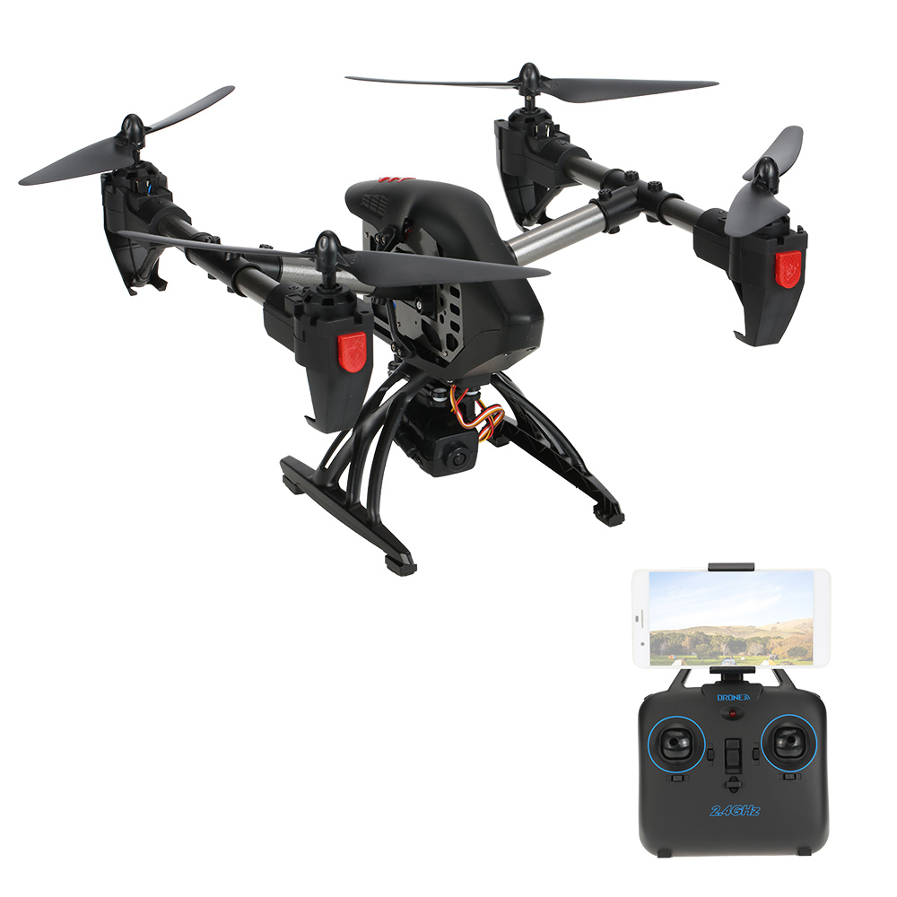 JDTOYS JD-11 Wifi FPV 2.4G 4CH 6-axis RC Drone with 2.0MP...
