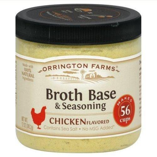 6 Pack : Orrington Farms Natural Chicken Flavored 12oz Jars : Chicken Soups