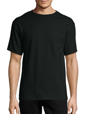 Hanes Men's and Big Men's Tagless Short Sleeve Tee, Up To Size 6XL