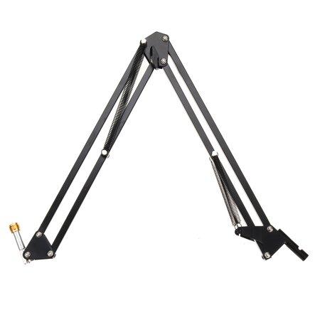 Condenser Microphone Mic Clip Studio Audio Recording Table Arm Stand Set Gift - image 5 de 12