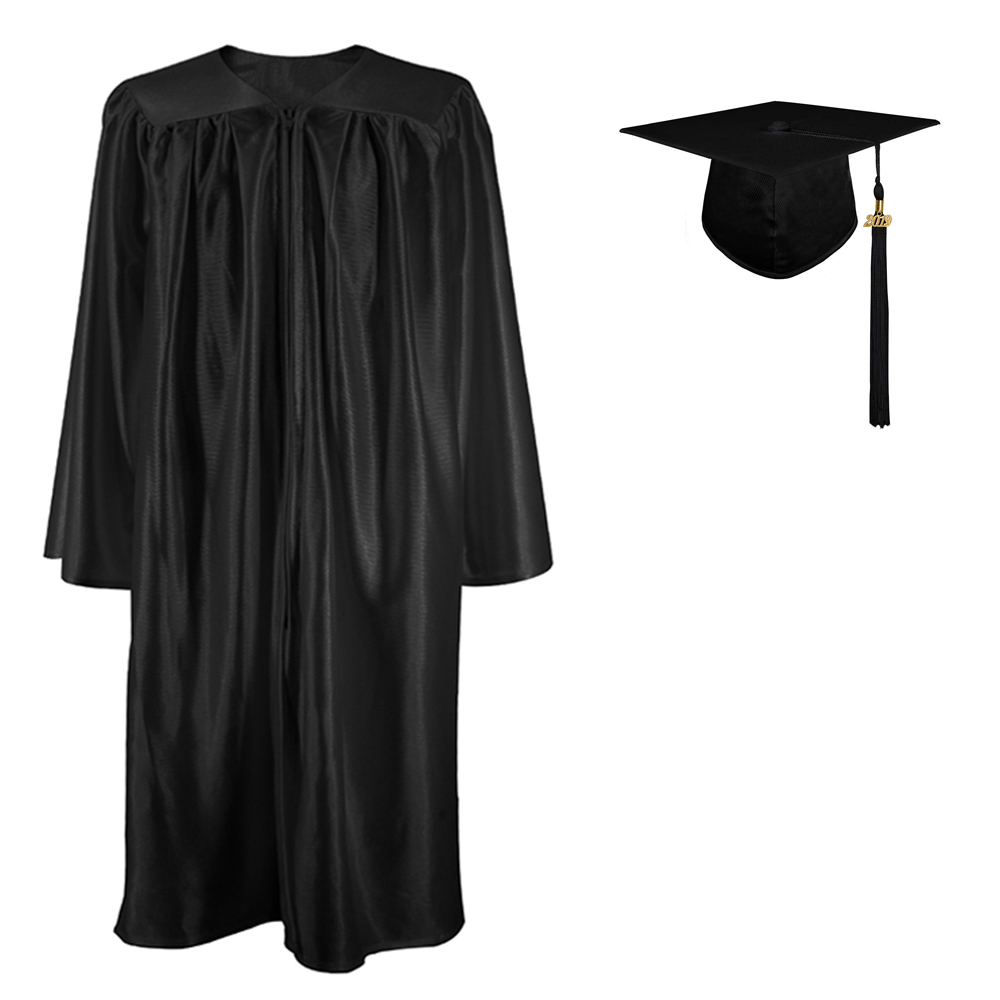 iFOMO Kids Cap and Gown for Graduation 2020,Preschool and Kindergarten Graduation Cap and Gown Tassel White L