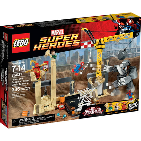 LEGO Super Heroes Rhino and Sandman Super Villain Team-Up, 76037