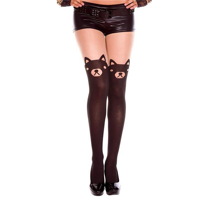Music Legs 50018 Basket Weave Spandex Pantyhose