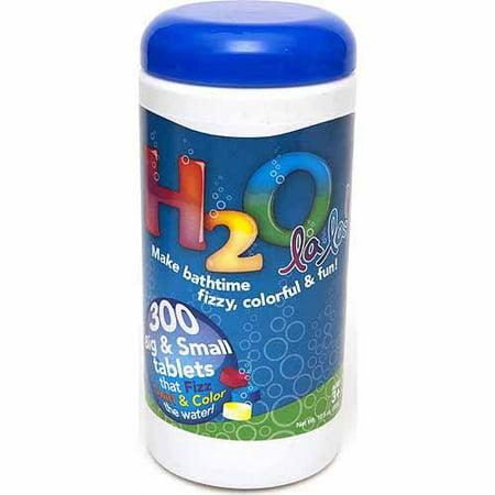 Color My Bath H20 La La! Color Changing Bath Tablets, 300-Count
