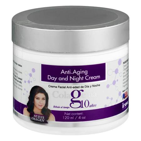 Colageina 10 Anti-Aging Day And Night Cream, 4.0 OZ