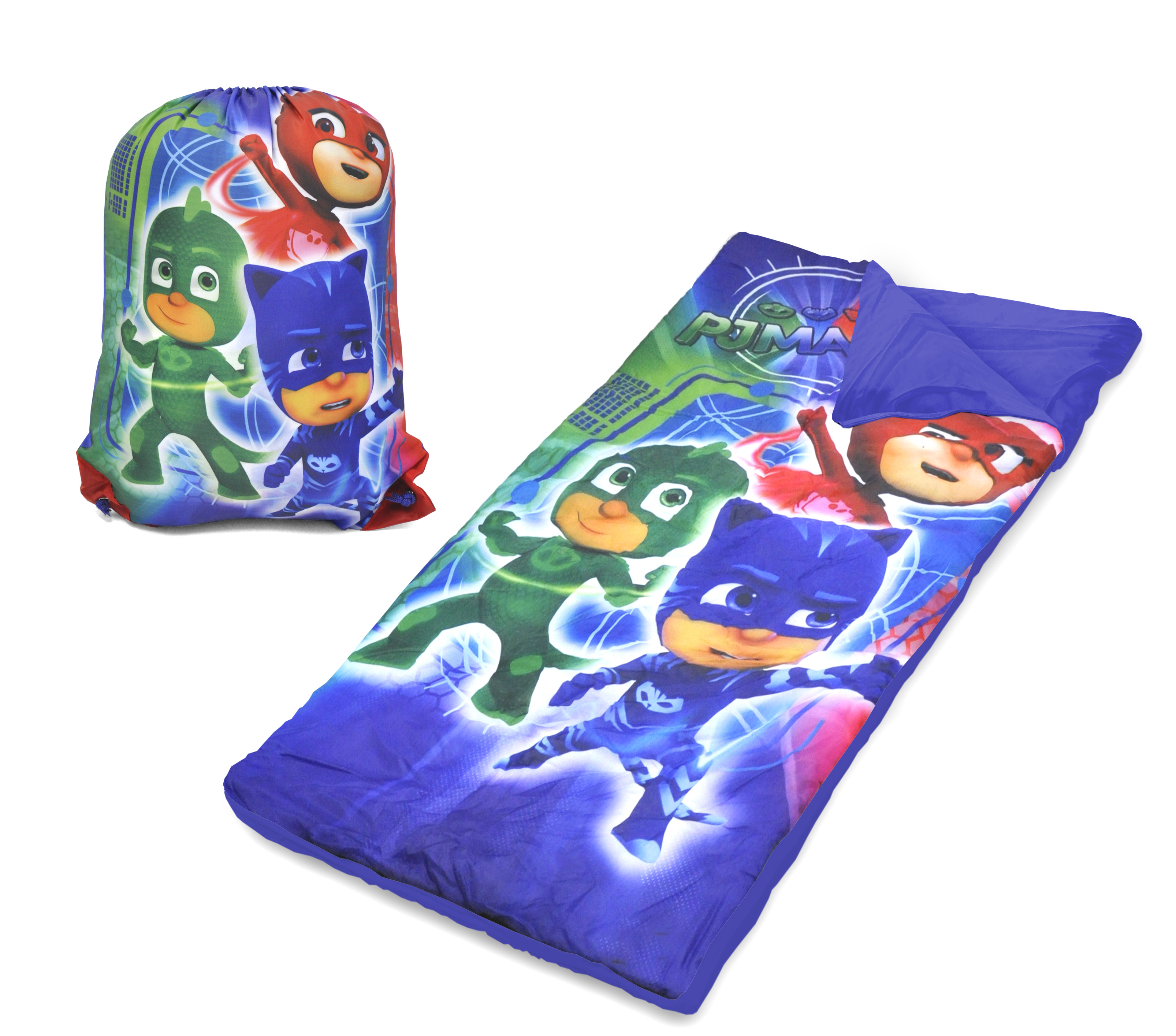 SLEEPING BAG SET PJ MASKS SLING BAG For Kids Boys Girls ...