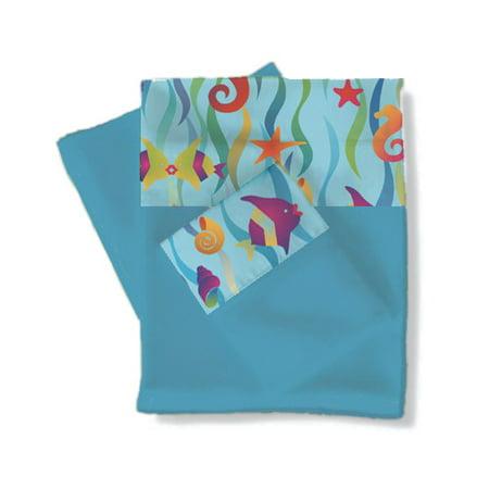 Room Magic Tropical Seas Sheets / Pillowcase Set