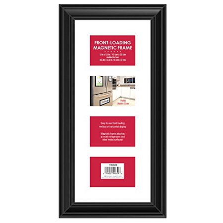 Mcs Front Loading Magnetic Picture Collage Frame For Refrigerator 4