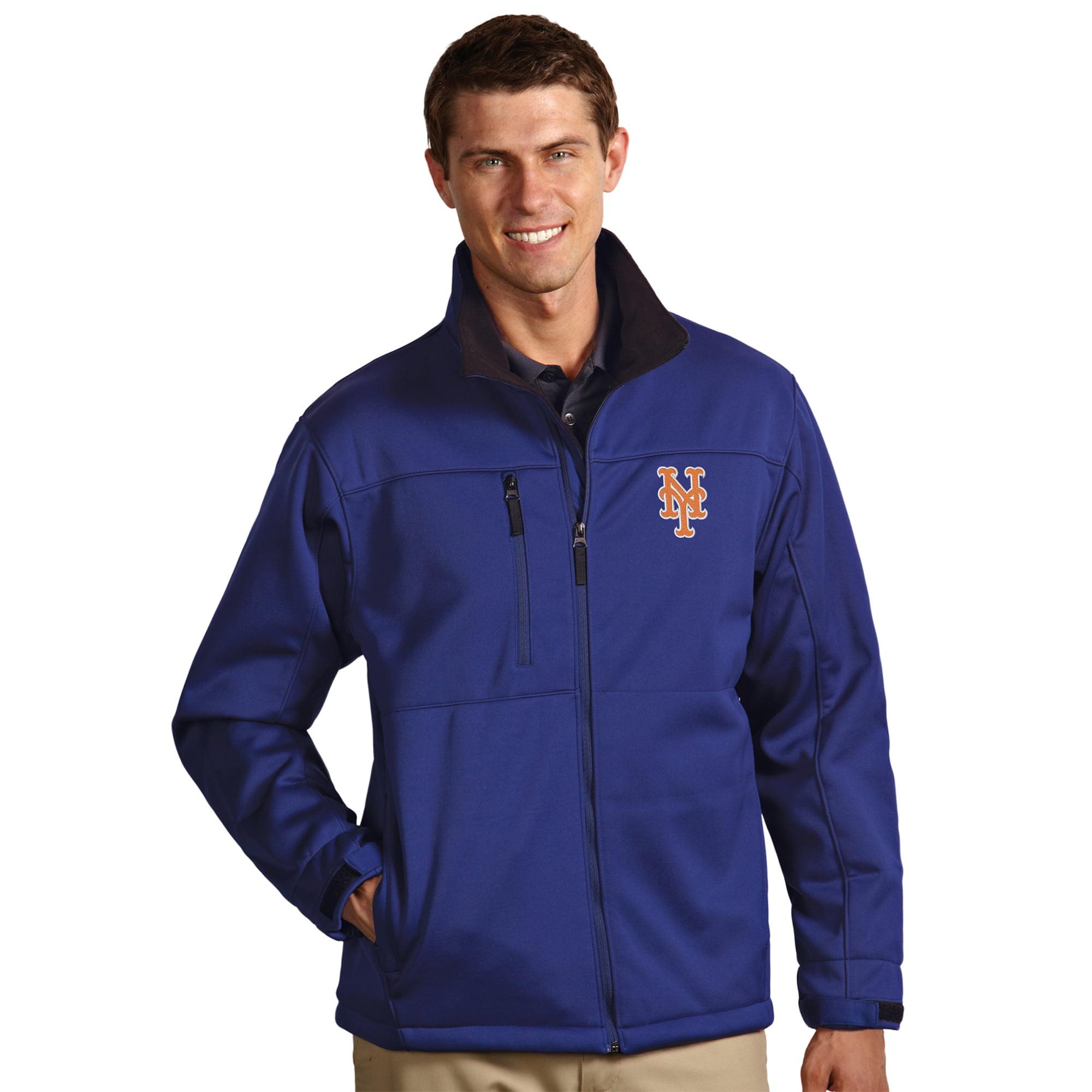 New York Mets Antigua Traverse Full-Zip Jacket - Royal