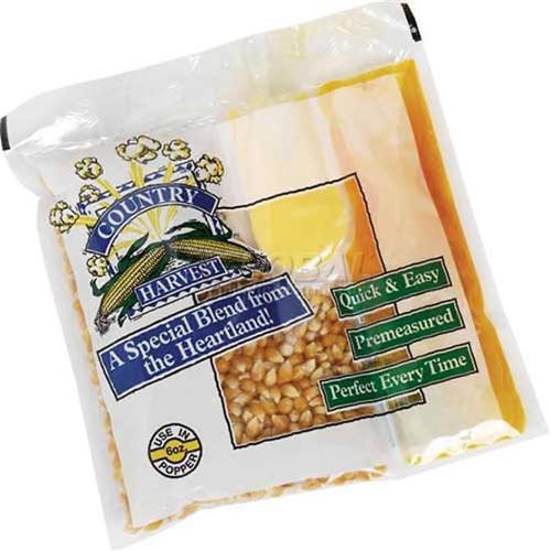 Paragon - Manufactured Fun 1101 Country Harvest 8 oz Tri-Pack Popcorn - 40 Pack Mega Case
