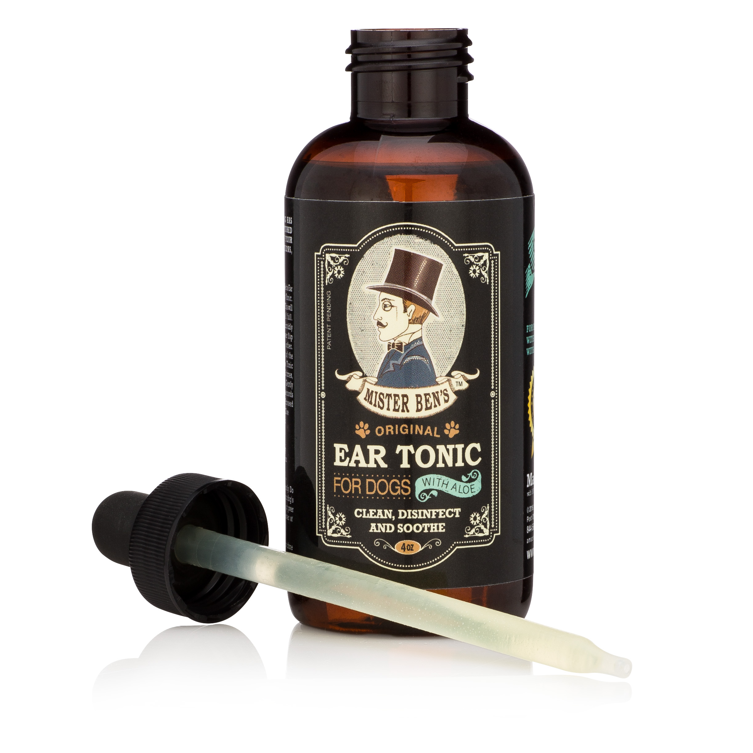 Mister Ben's Original Ear Tonic with Aloe for Dogs