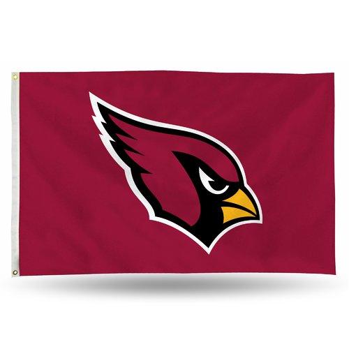 Rico Industries NFL 3' x 5' Banner Flag, Arizona Cardinals