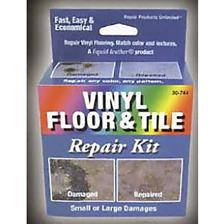 - Liquid Leather Vinyl Floor and Tile Repair Kit