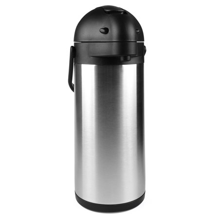 101 Oz (3L) Airpot Thermal Carafe / Lever Action / Stainless Steel Thermos / 12 Hour Heat Retention / 24 Hour Cold Retention by Cresimo (Zojirushi Thermal Airpot)