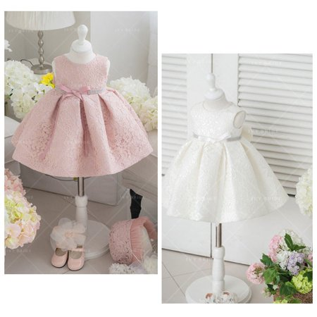 Flower Girl Dresses Lace Flower Birthday Wedding Bridesmaid Formal Party Dress