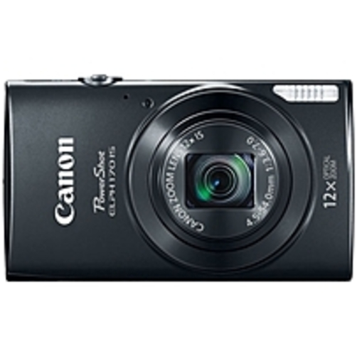 Canon PowerShot ELPH170 IS Digital Camera with 20 Megapixels and 12x Optical Zoom, Black
