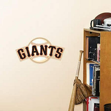 Fathead San Francisco Giants Teammate Logo